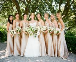 Ten Best Champagne Bridesmaid Dresses for Your Wedding