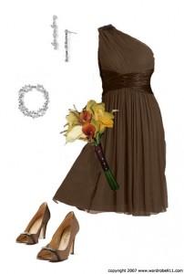 Top 10 Flirty and Fun Brown Bridesmaid Dresses
