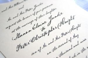 Handwritten Wedding Invitations, weddinginvitation card, invitation card