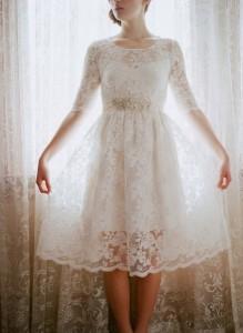 lace-tea-length-dress