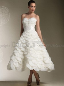 princess-strapless-sweetheart-natural-tea-length-wedding-dresses-with-sash-1_1_1