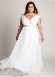 fabulous-a-line-v-neck-ankle-length-lace-embellishing-plus-size-wedding-dress-w1790