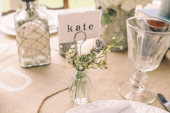 7-trending-wedding-reception-details-for-summer-2014-Bud-Vase-Name-Card-Holder-12-for-4-The-Wedding-of-my-Dreams-Credit-Daffodil-Waves-Photography-87