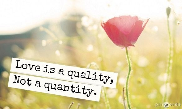 love is a quality quote bestbride101