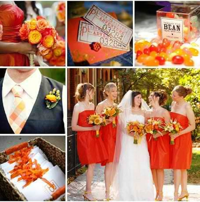 wedding color combos
