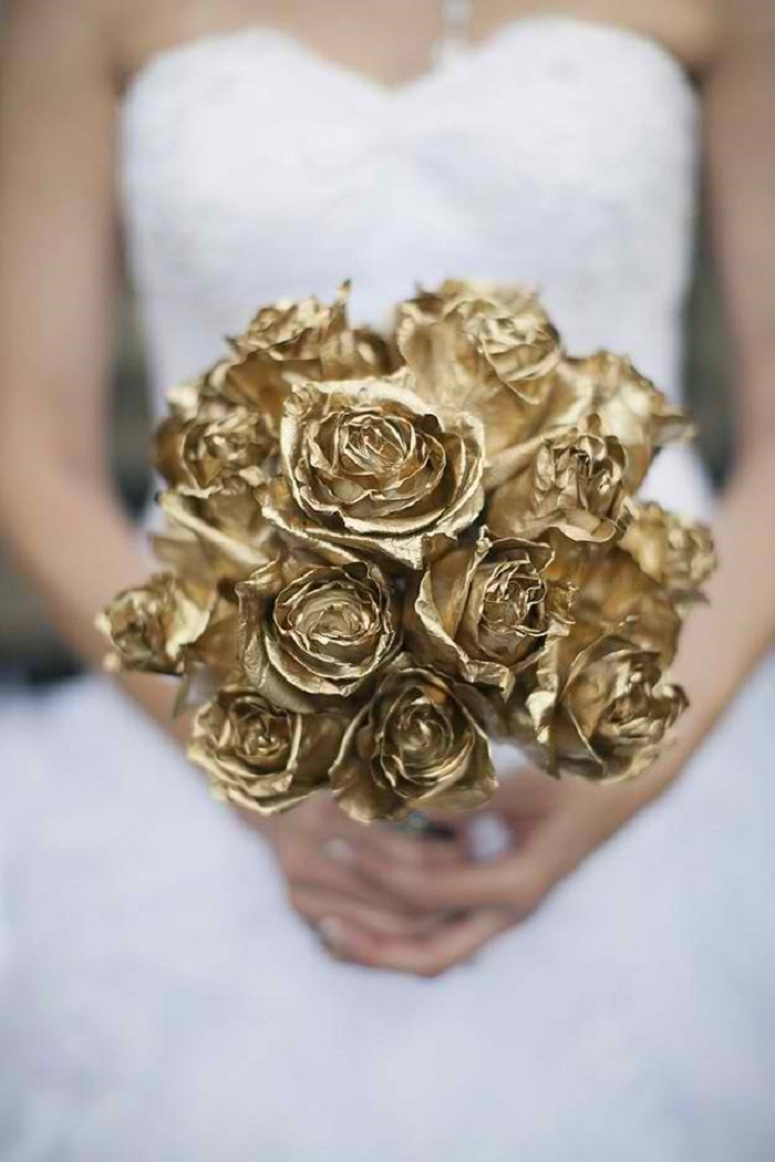 wedding in gold