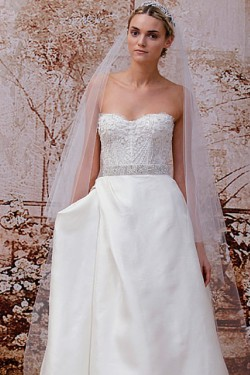 Bridal Strapless Gown